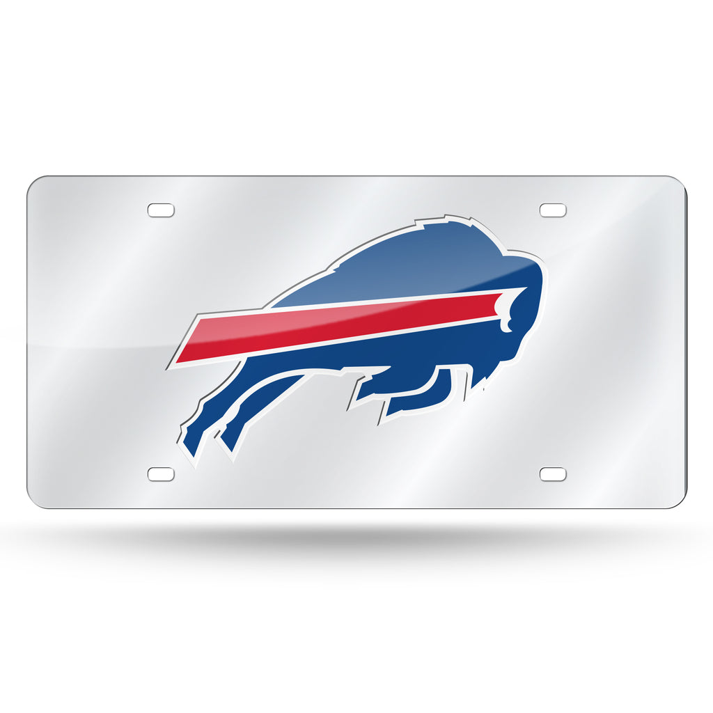 NFL Buffalo Bills Laser License Plate Tag - Silver