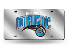 NBA Orlando Magic Laser License Plate Tag - Silver