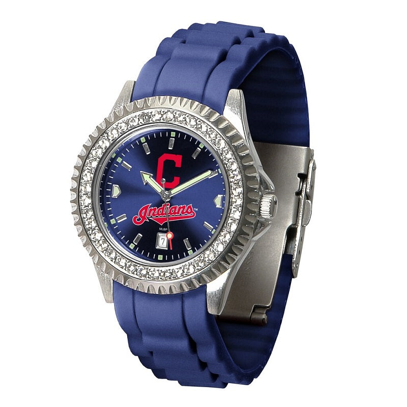 MLB Cleveland Indians Women's Sparkle Watch