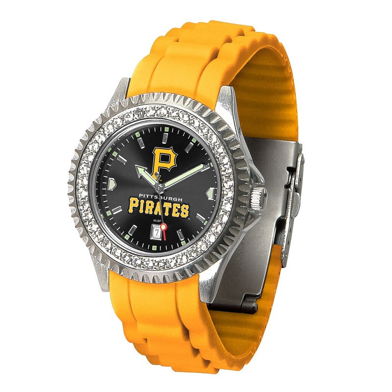 MLB Pittsburgh Pirates Women's Sparkle Watch