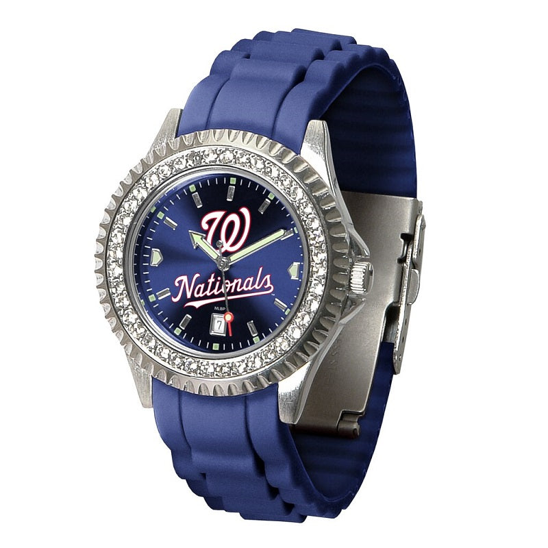 MLB Washington Nationals Women's Sparkle Watch