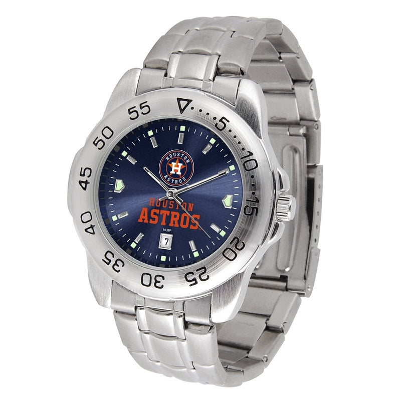 MLB Houston Astros Men's Sport Steel Watch