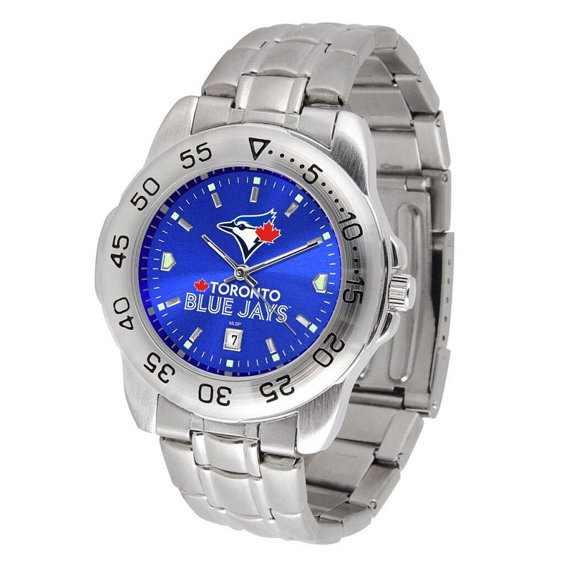 MLB Toronto Blue Jays Men's Sport Steel Watch