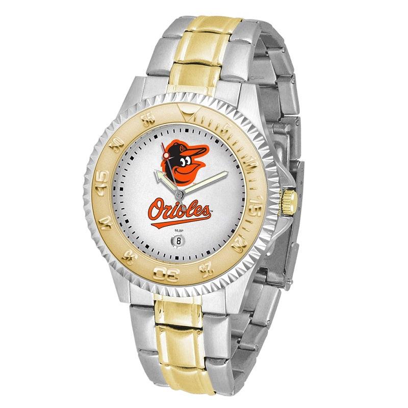 MLB Baltimore Orioles Men's Two-Tone Competitor Watch