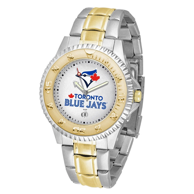 MLB Toronto Blue Jays Men's Two-Tone Competitor Watch
