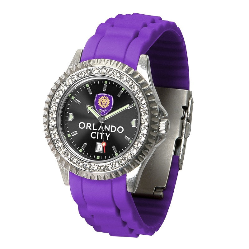 MLS Orlando City SC Women's Sparkle Watch