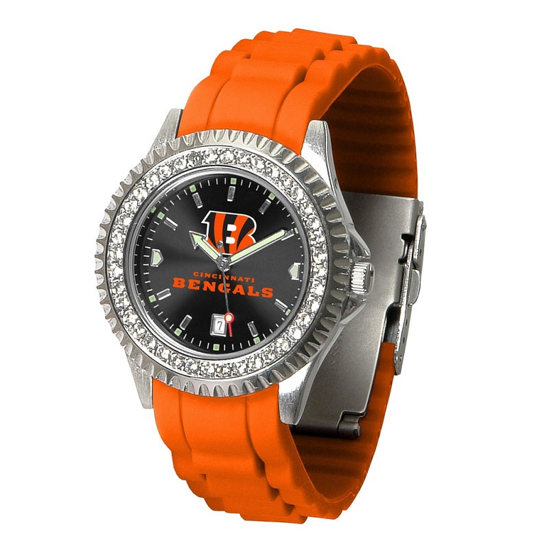 NFL Cincinnati Bengals Women's Sparkle Watch