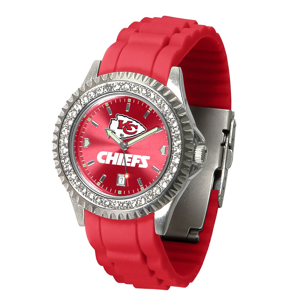 NFL Kansas City Chiefs Women's Sparkle Watch