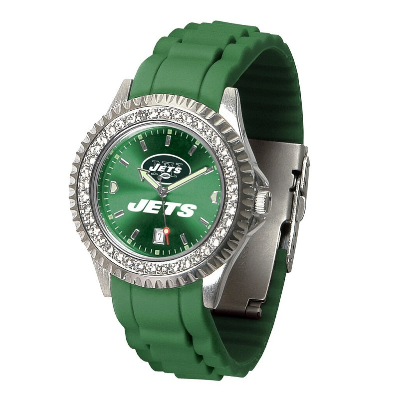 NFL New York Jets Women's Sparkle Watch