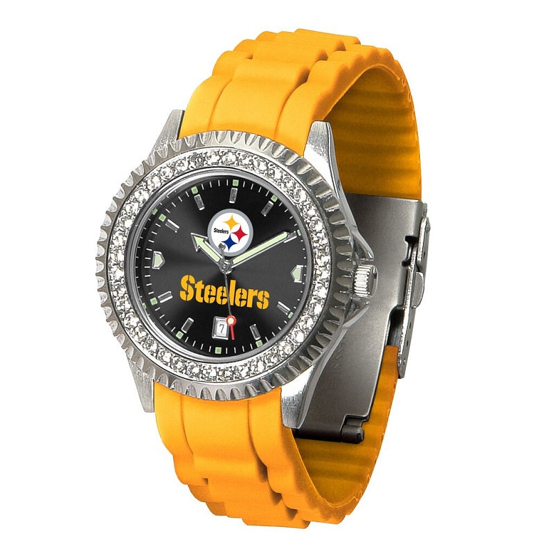 NFL Pittsburgh Steelers Women's Sparkle Watch