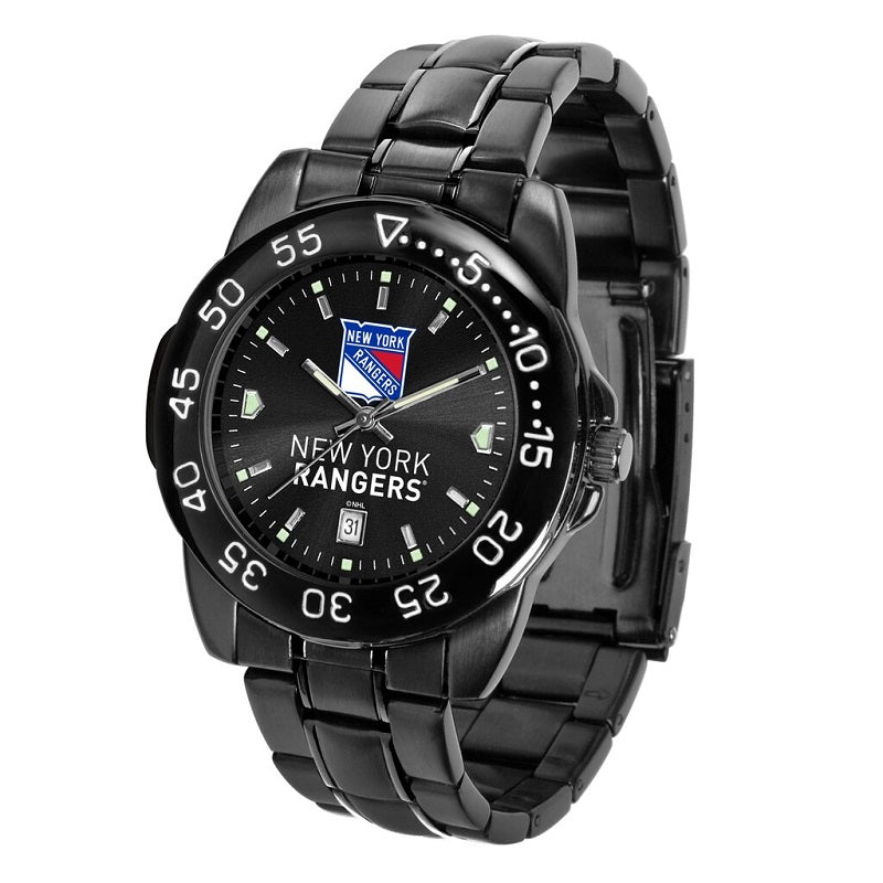 NHL New York Rangers Men's Fantom Watch