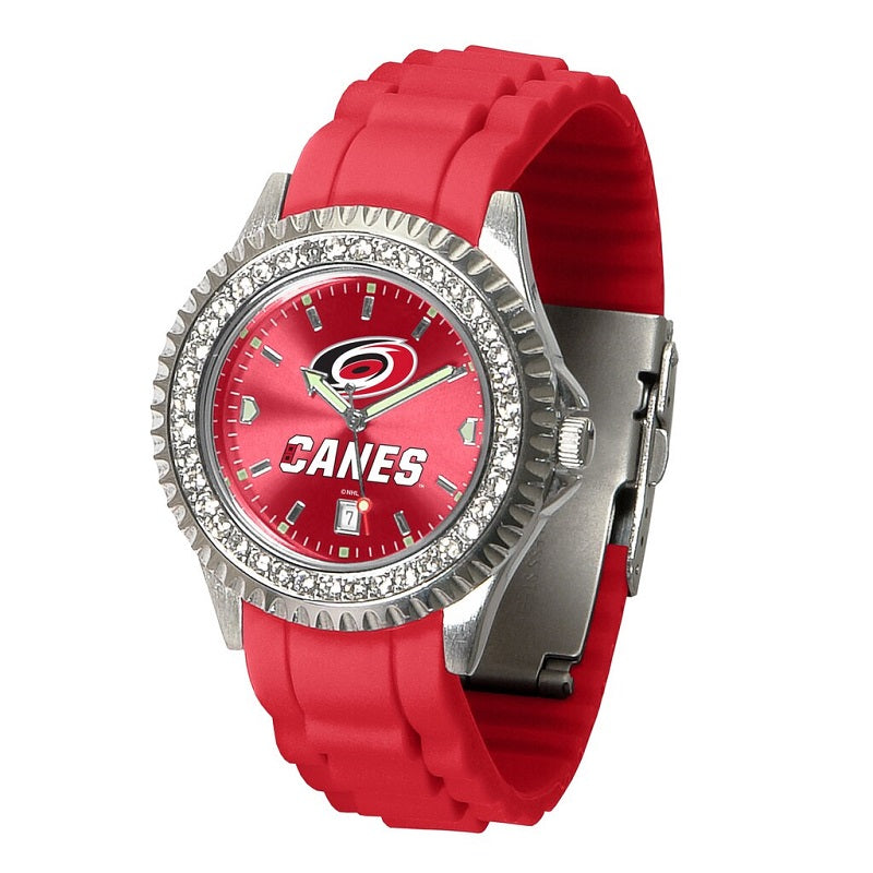 NHL Carolina Hurricanes Women's Sparkle Watch