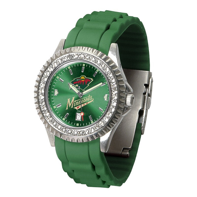 NHL Minnesota Wild Women's Sparkle Watch