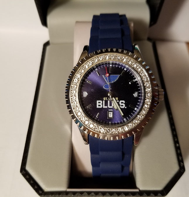 NHL St. Louis Blues Women's Sparkle Watch