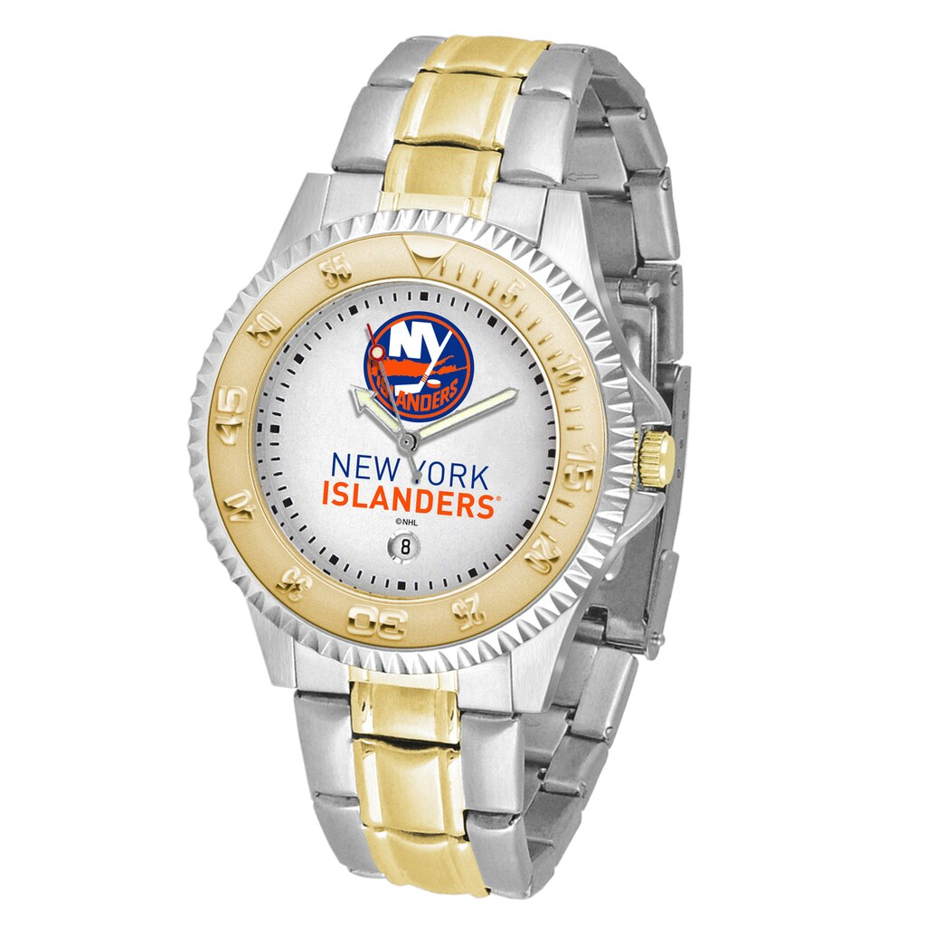 NHL New York Islanders Men's Two-Tone Competitor Watch