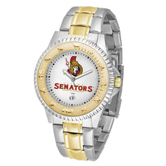NHL Ottawa Senators Men's Two-Tone Competitor Watch