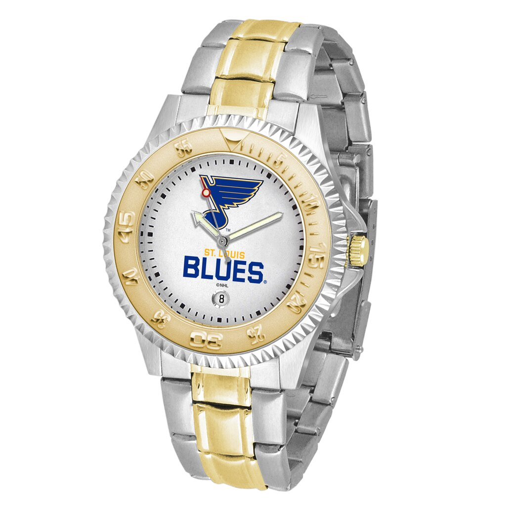 NHL St. Louis Blues Men's Two-Tone Competitor Watch
