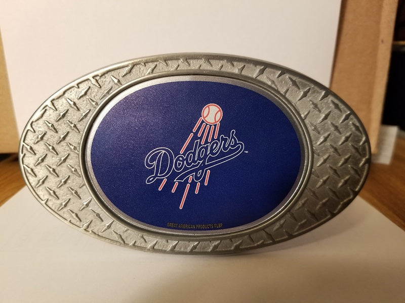 NEW!! MLB Los Angeles Dodgers Metal Diamond Plate Trailer Hitch Cover