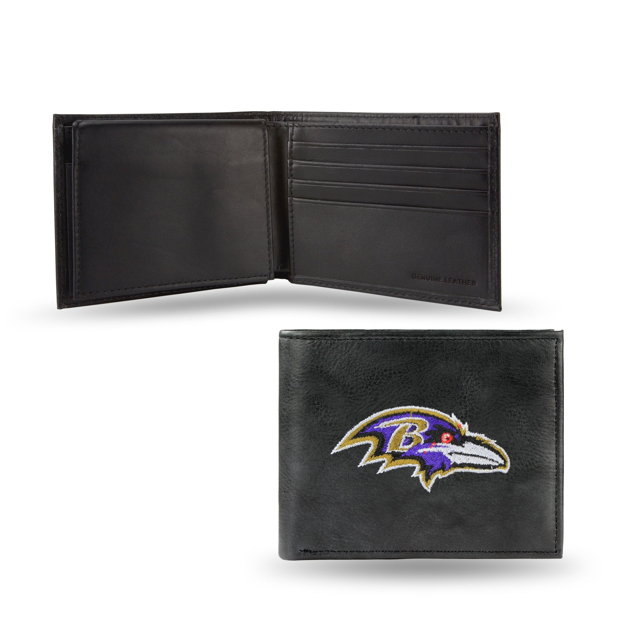 NFL Baltimore Ravens Embroidered Billfold / Wallet