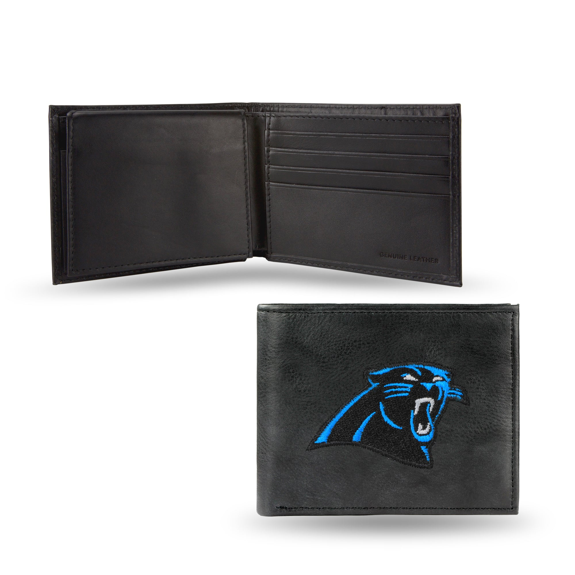 NFL Carolina Panthers Embroidered Billfold / Wallet