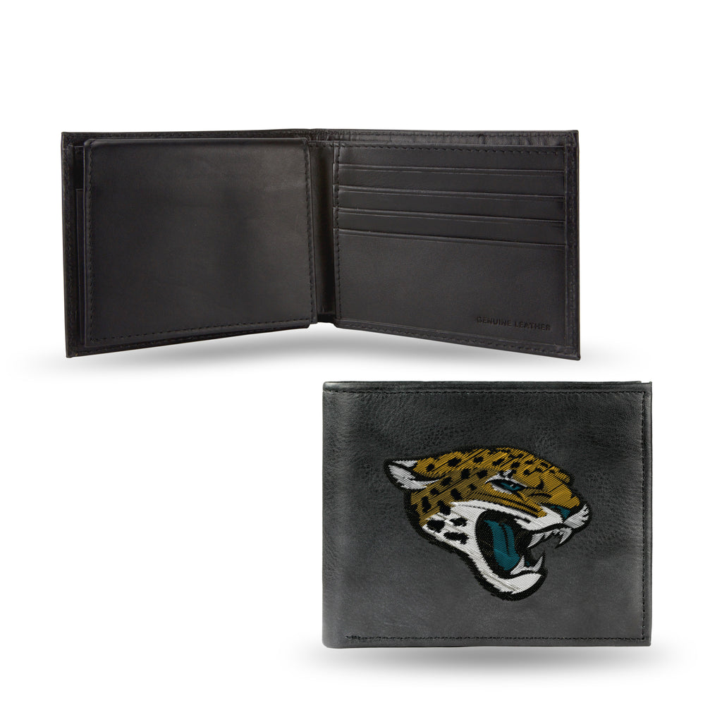 NFL Jacksonville Jaguars Embroidered Billfold / Wallet