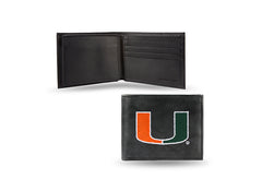 NCAA Miami Hurricanes Embroidered Billfold / Wallet