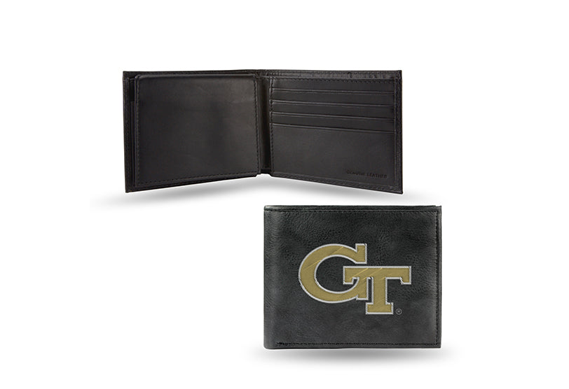 NCAA Georgia Tech Yellow Jackets Embroidered Billfold / Wallet
