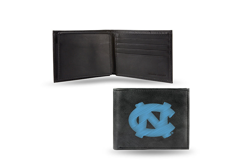 NCAA North Carolina Tar Heels Embroidered Billfold / Wallet