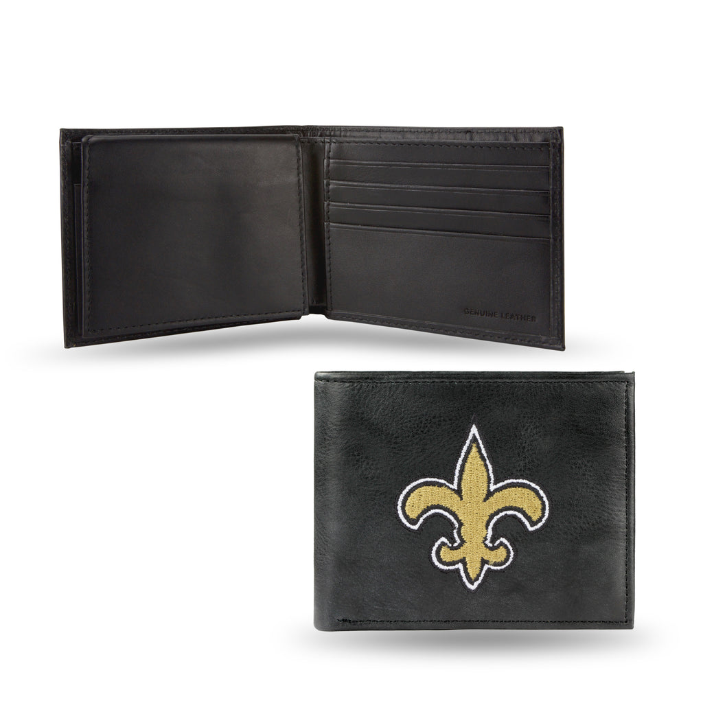 NFL New Orleans Saints Embroidered Billfold / Wallet