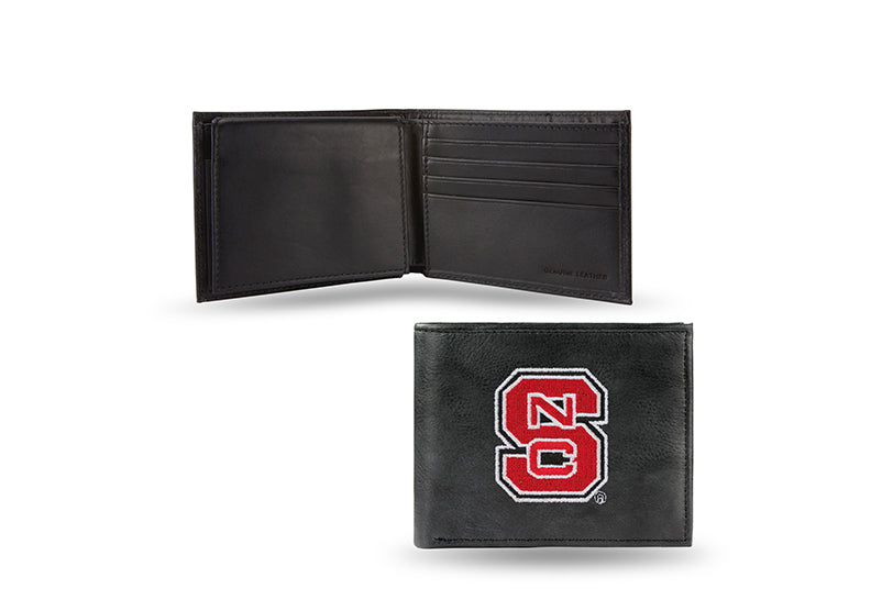 NCAA North Carolina State Wolfpack Embroidered Billfold / Wallet