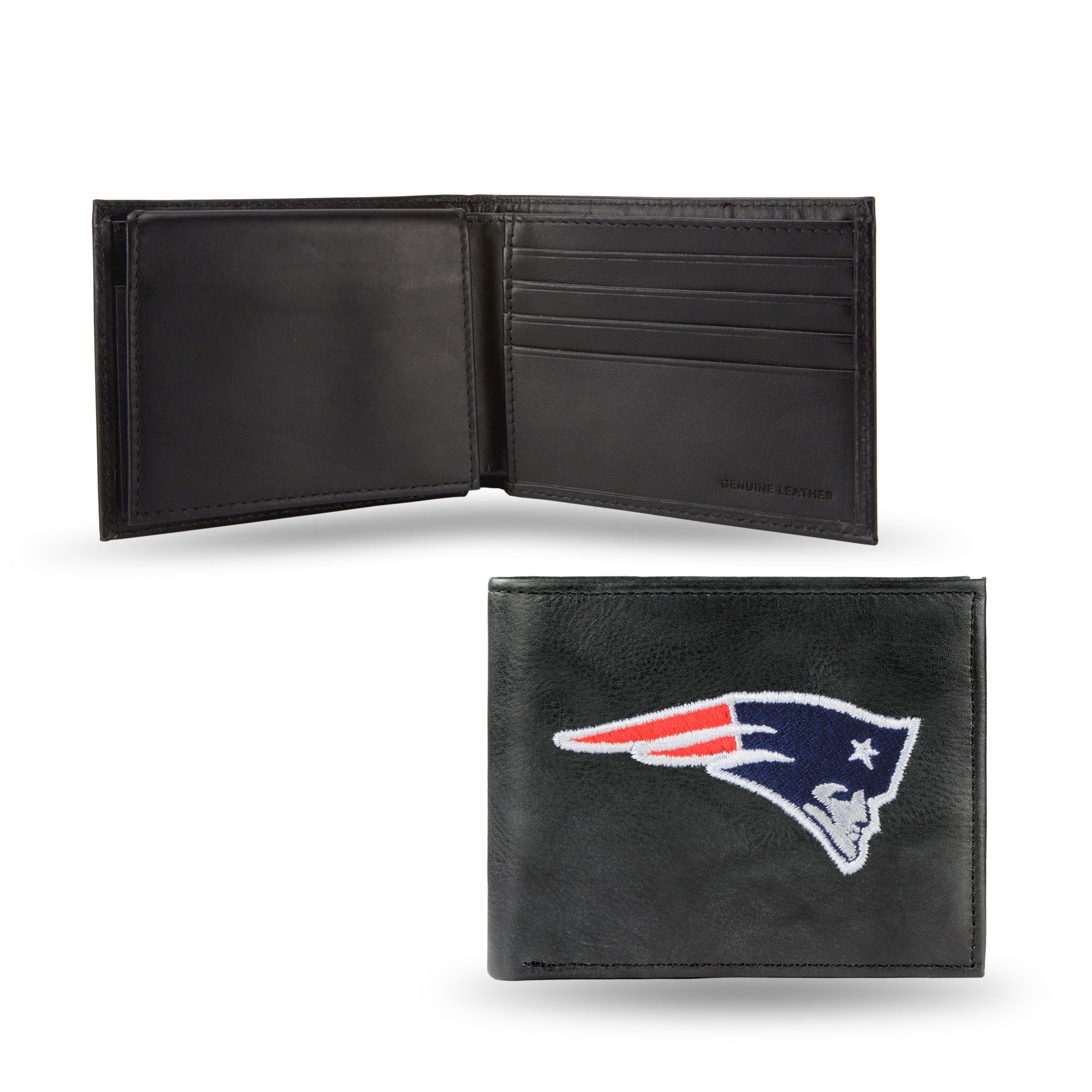 NFL New England Patriots Embroidered Billfold / Wallet