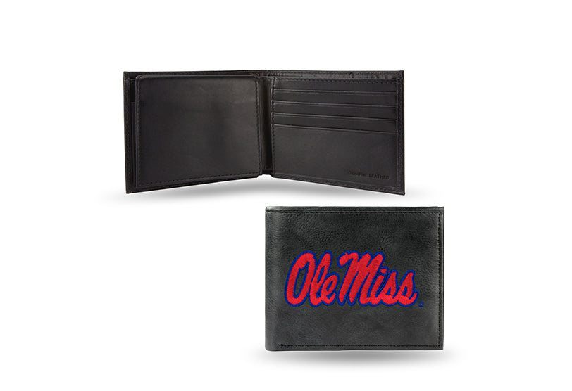 NCAA Ole Miss Rebels Embroidered Billfold / Wallet