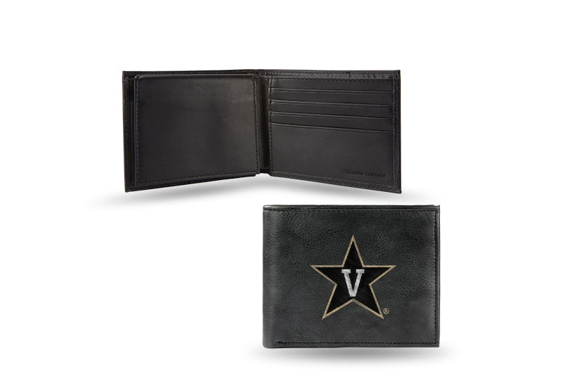 NCAA Vanderbilt Commodores Embroidered Billfold / Wallet