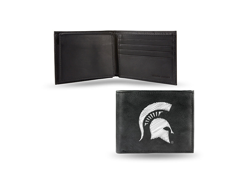 NCAA Michigan State Spartans Embroidered Billfold / Wallet