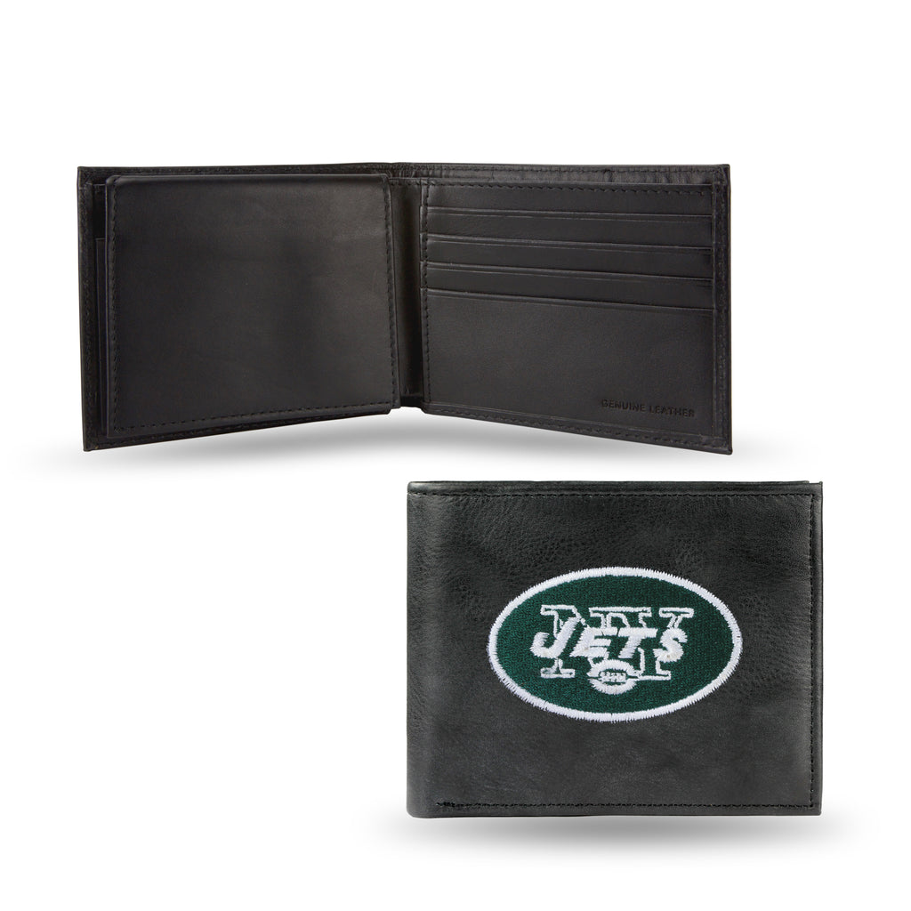 NFL New York Jets Embroidered Billfold / Wallet