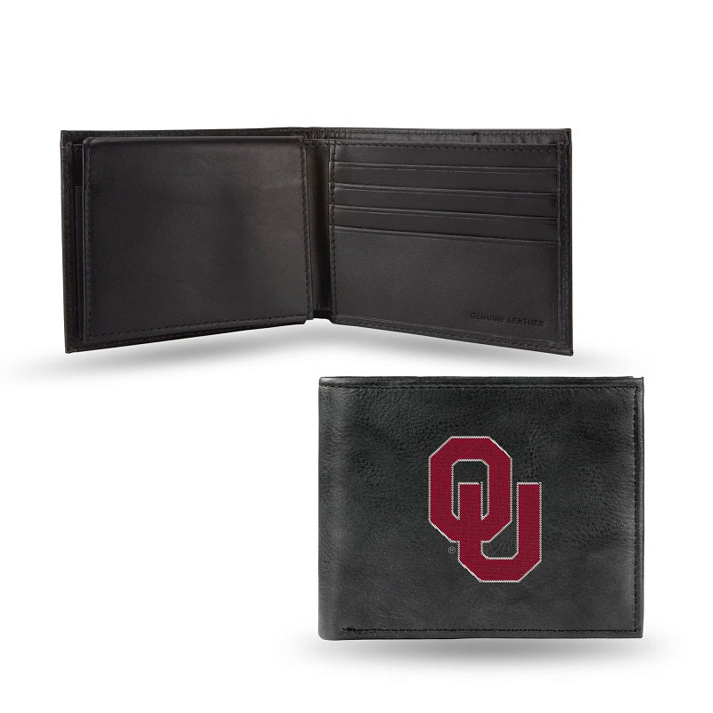 NCAA Oklahoma Sooners Embroidered Billfold / Wallet