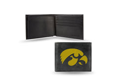 NCAA Iowa Hawkeyes Embroidered Billfold / Wallet