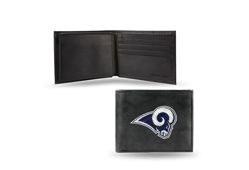 NFL Los Angeles Rams Embroidered Billfold / Wallet