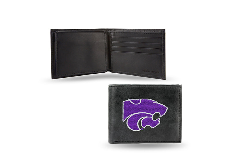 NCAA Kansas State Wildcats Embroidered Billfold / Wallet