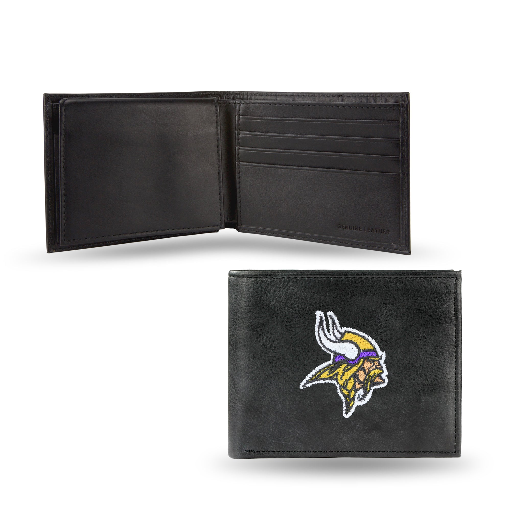 NFL Minnesota Vikings Embroidered Billfold / Wallet