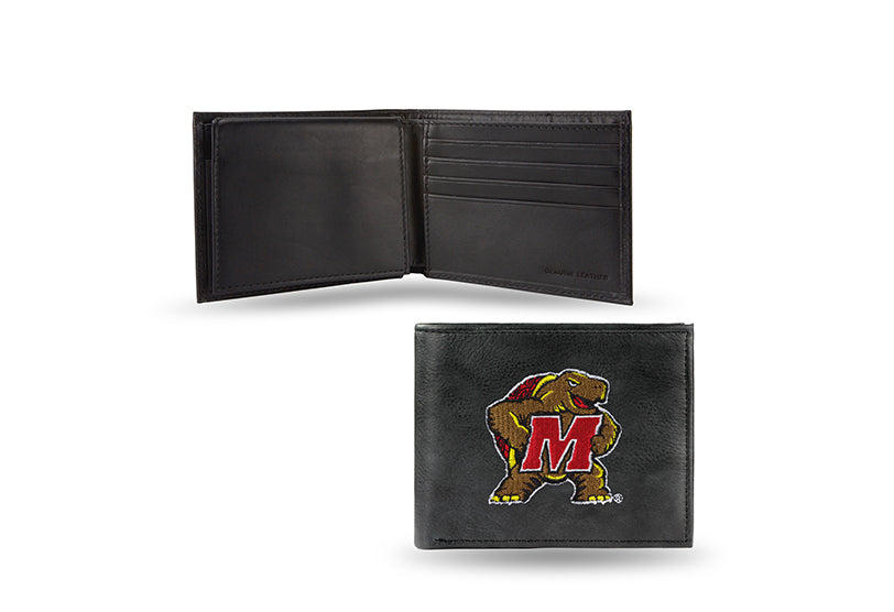 NCAA Maryland Terrapins Embroidered Billfold / Wallet