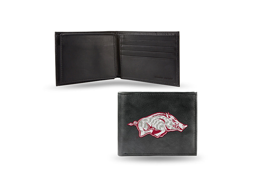 NCAA Arkansas Razorbacks Embroidered Billfold / Wallet