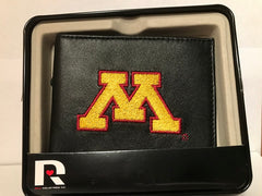 NCAA Minnesota Golden Gophers Embroidered Billfold / Wallet