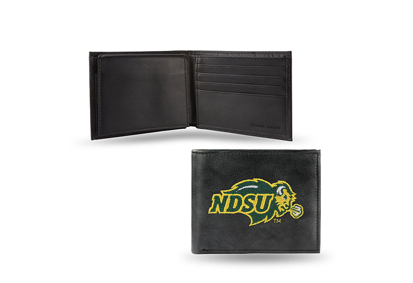 NCAA North Dakota State Bison Embroidered Billfold / Wallet