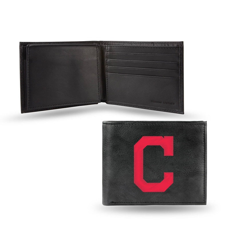 MLB Cleveland Indians Embroidered Billfold / Wallet