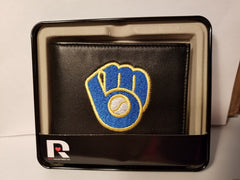 MLB Milwaukee Brewers Embroidered Billfold / Wallet