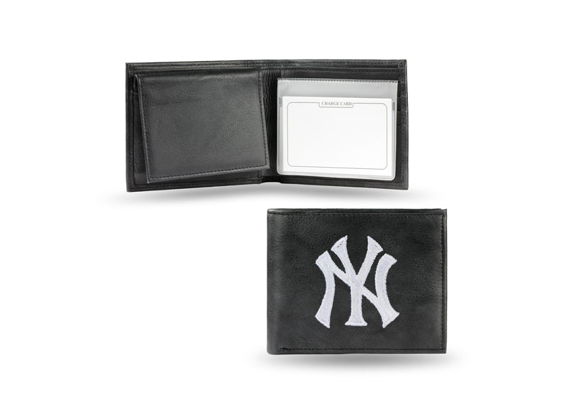MLB New York Yankees Embroidered Billfold / Wallet