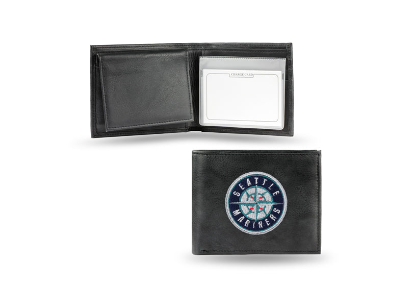 MLB Seattle Mariners Embroidered Billfold / Wallet
