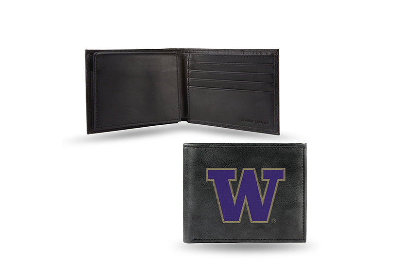 NCAA Washington Huskies Embroidered Billfold / Wallet