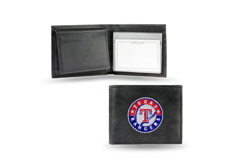 MLB Texas Rangers Embroidered Billfold / Wallet